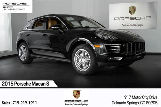 2015 Porsche Macan S:15 car images available