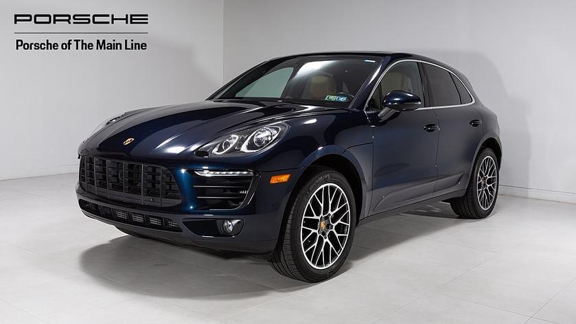 2018 Porsche Macan S:22 car images available