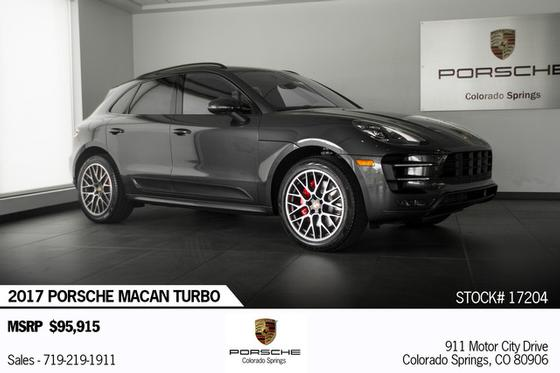 2017 Porsche Macan Turbo:23 car images available