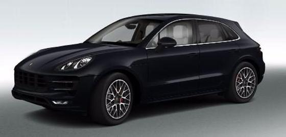 2017 Porsche Macan Turbo:3 car images available