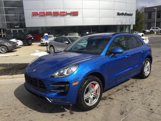 2017 Porsche Macan Turbo:15 car images available