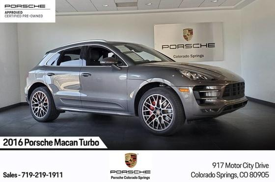 2016 Porsche Macan Turbo:24 car images available