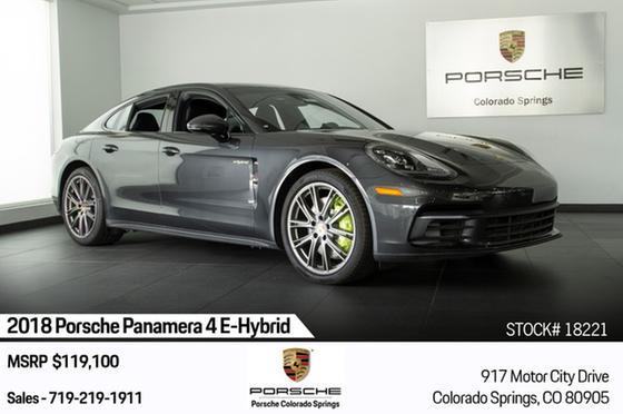 2018 Porsche Panamera 4 E-Hybrid:24 car images available