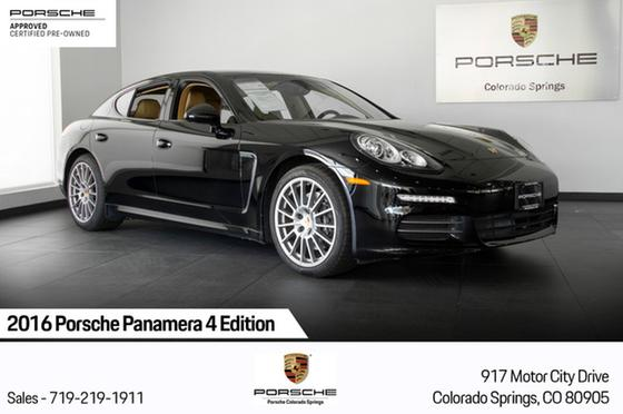 2016 Porsche Panamera 4 Edition:24 car images available