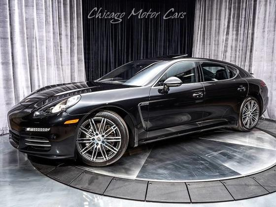 2014 Porsche Panamera 4S Executive:24 car images available