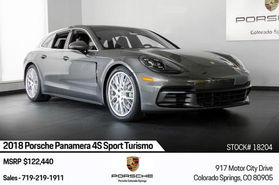 2018 Porsche Panamera 4S Sport Turismo:24 car images available