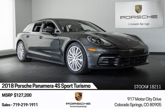 2018 Porsche Panamera 4S Sport Turismo:24 car images available