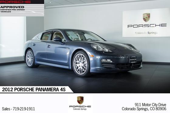 2012 Porsche Panamera 4S:24 car images available