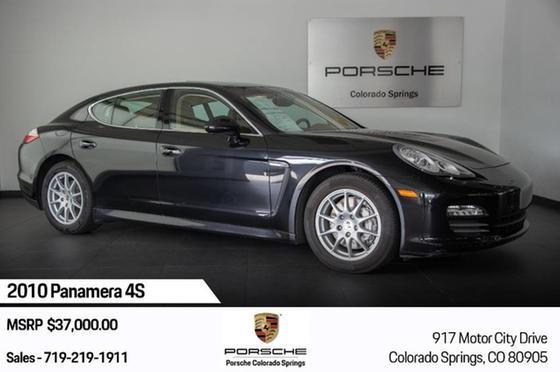 2010 Porsche Panamera 4S:21 car images available