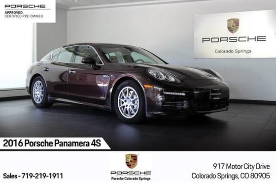 2016 Porsche Panamera 4S:24 car images available