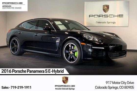 2016 Porsche Panamera S e-Hybrid:24 car images available