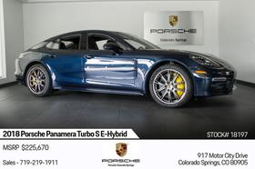 2018 Porsche Panamera Turbo S E-Hybrid:24 car images available