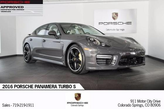 2016 Porsche Panamera Turbo S:24 car images available