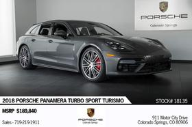2018 Porsche Panamera Turbo Sport Turismo:24 car images available