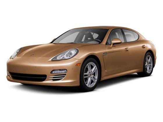2012 Porsche Panamera Turbo : Car has generic photo