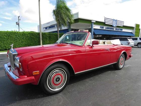 1987 Rolls Royce Corniche :24 car images available