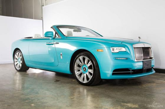 2017 Rolls Royce Dawn Convertible