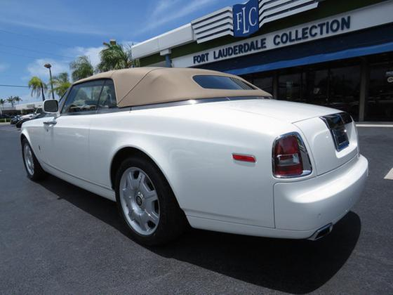 2010 Rolls Royce Phantom Drophead
