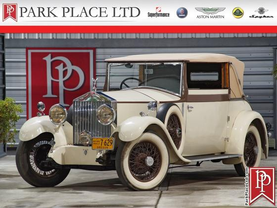 1929 Rolls Royce Phantom Drophead:24 car images available