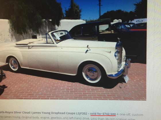 1957 Rolls-Royce Silver Cloud Drophead