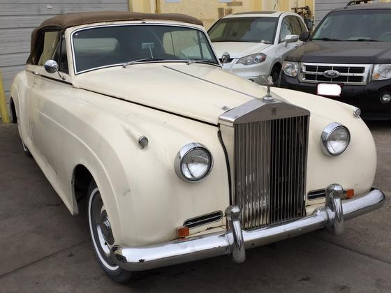 1957 Rolls Royce Silver Cloud Drophead:20 car images available