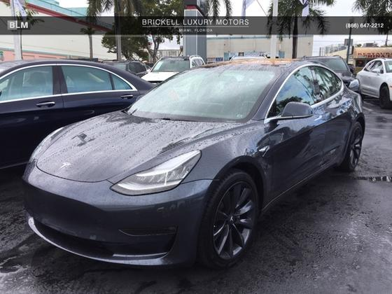2018 Tesla Model 3 Long Range:8 car images available