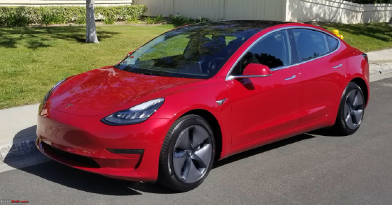 2020 Tesla Model 3 Long Range : Car has generic photo