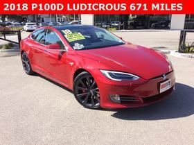 2018 Tesla Model S P100D:19 car images available