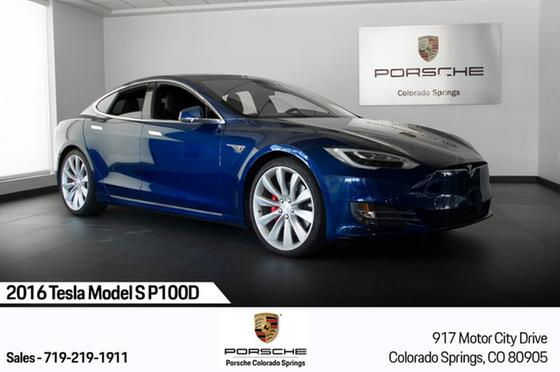 2016 Tesla Model S P100D:23 car images available