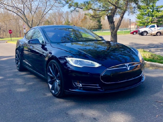 2014 Tesla Model S P85+:12 car images available