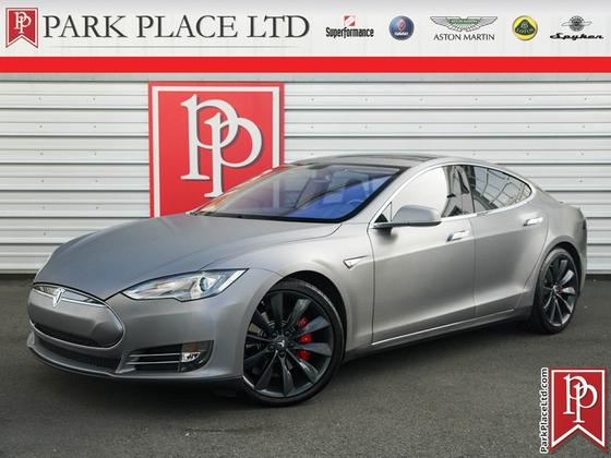 2014 Tesla Model S P85+:24 car images available