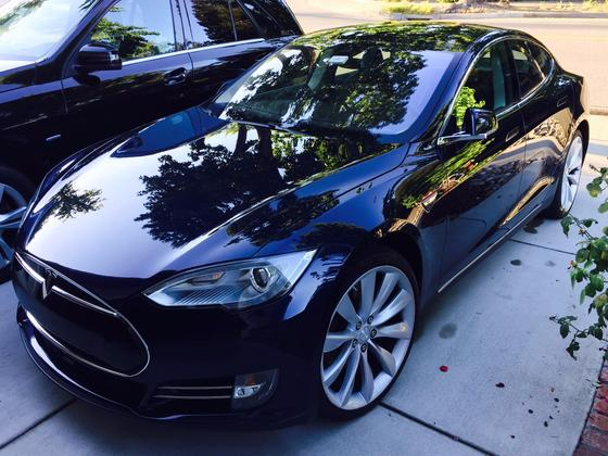 2014 Tesla Model S P85D:11 car images available