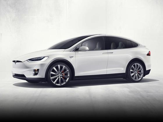 2016 Tesla Model X 90D : Car has generic photo