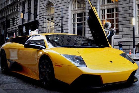 Lamborghini Murcielago Coupe Rental