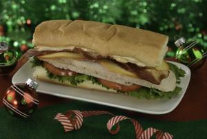 Carved Turkey Sandwich – Cosmic Ray's