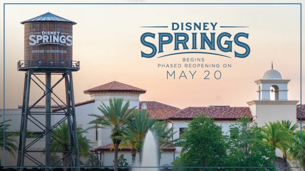 Disney Springs to Reopen May 20, 2020
