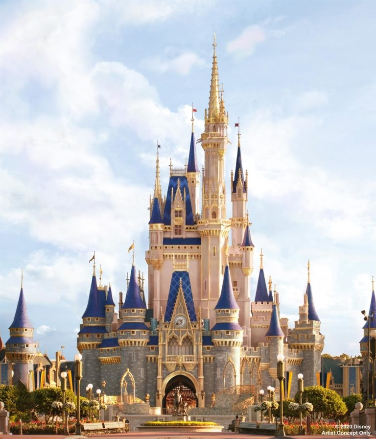 A Royal Makeover for Walt Disney World's Cinderella Castle