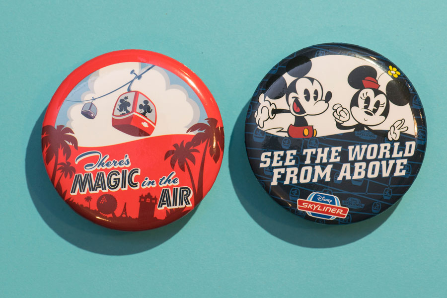 Disney Skyliner Buttons