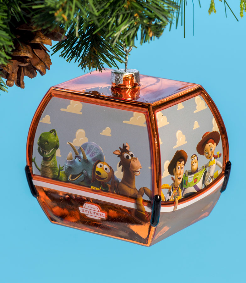 Disney Skyliner Christmas Ornament