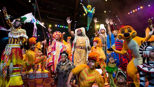 Disney's Animal Kingdom - Parades & Shows - Festival of the Lion King