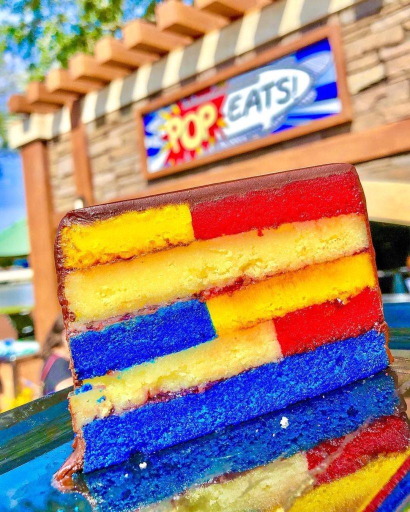 Pop Eats: Frangipane cake