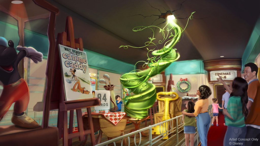 Mickey and Minnie's Runaway Railway in Disneyland