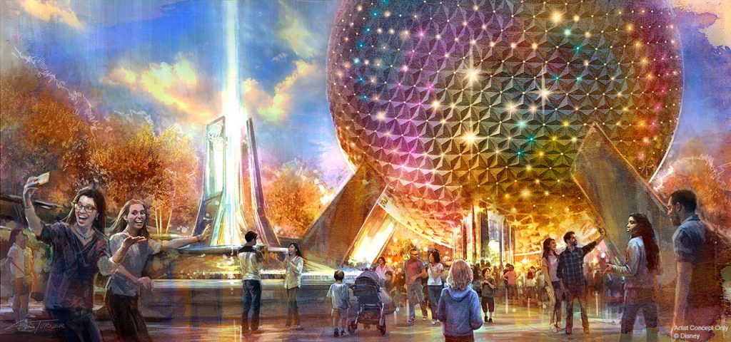 Grand and Miraculous Changes to Spaceship Earth