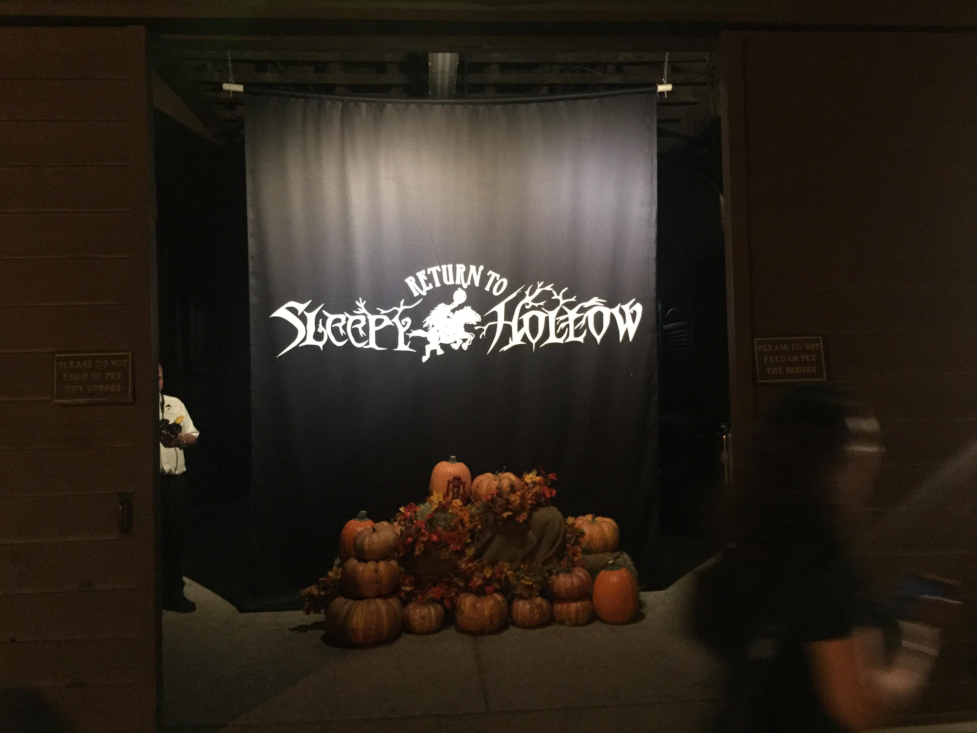 "Entrance to ""Return to Sleepy Hollow"""
