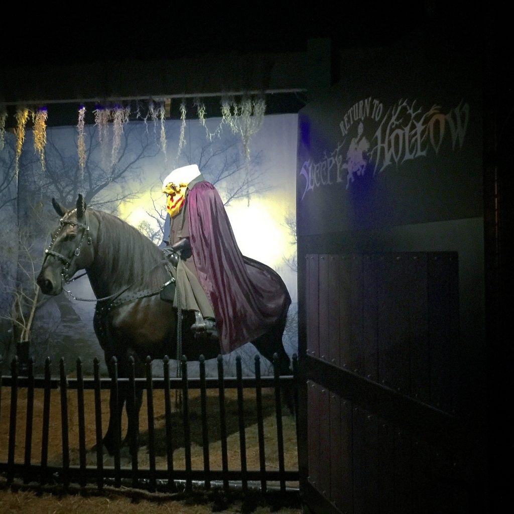 Return to Sleepy Hollow Headless Horseman
