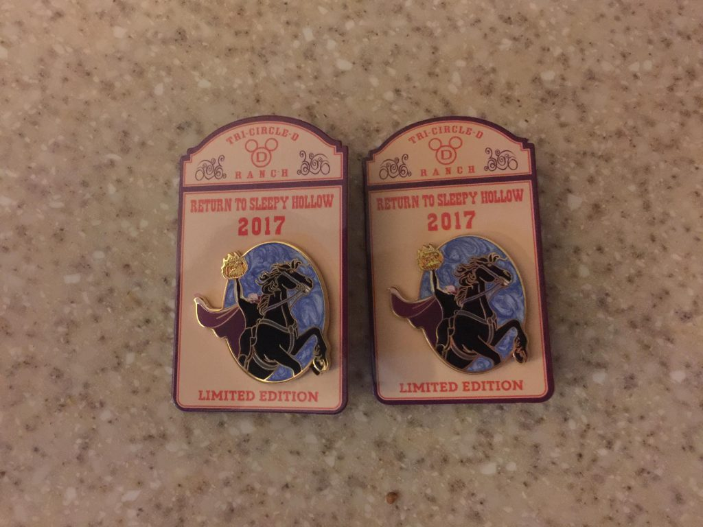Return to Sleepy Hollow Pins