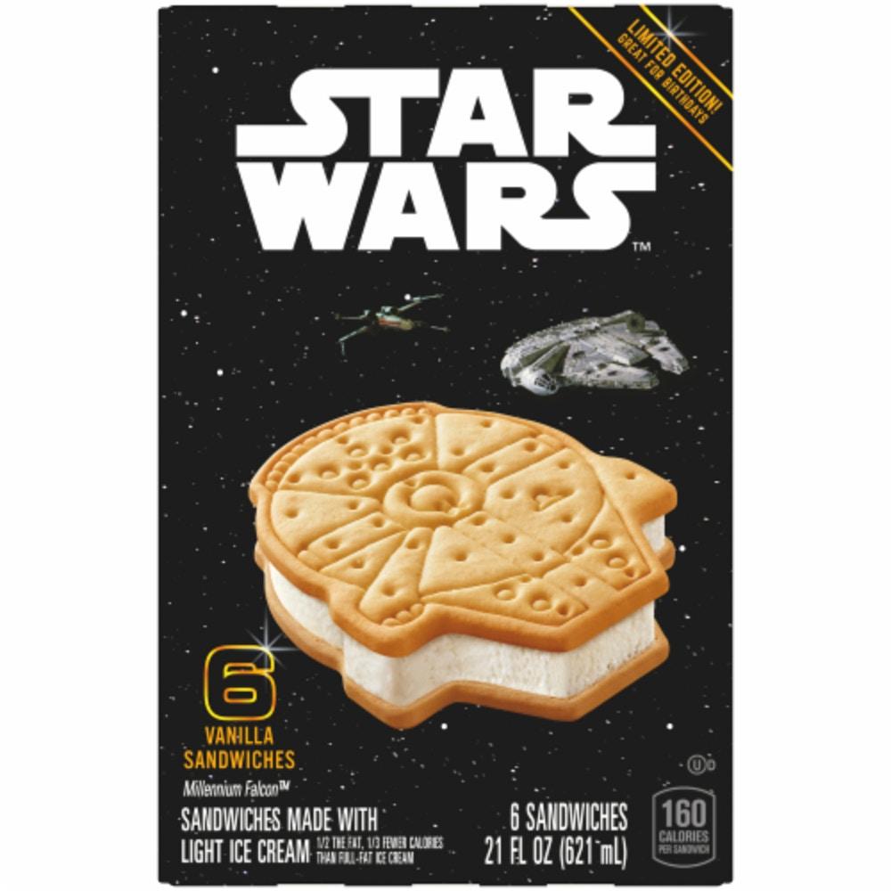 Star Wars Millennium Falcon Ice Cream Sandwich