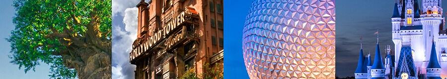 All 4 Disney World Parks