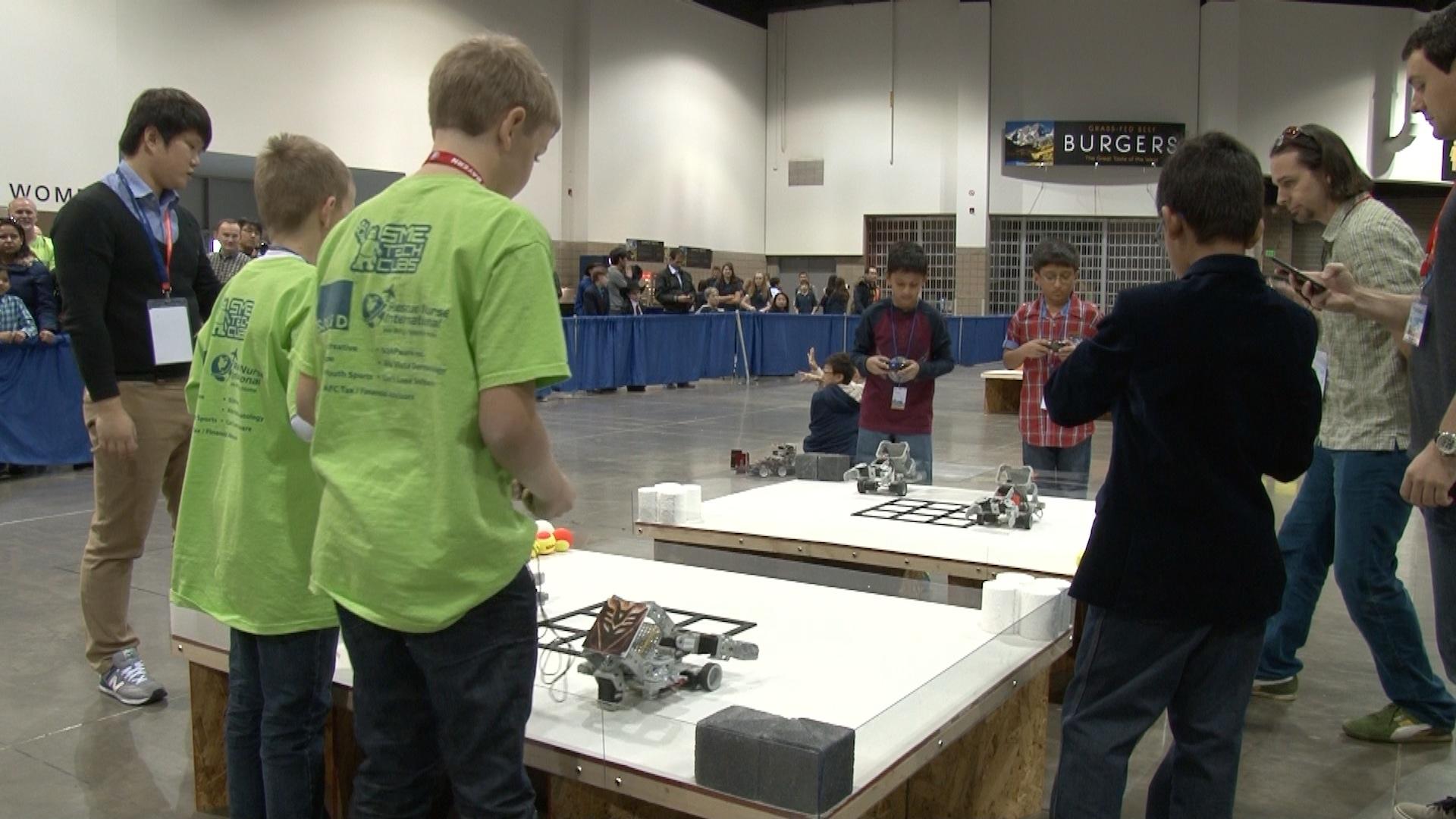 Dcsd Students Win Gold Silver Bronze At International Robot