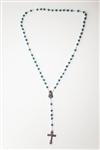 Sparkly Glass Bead Mary Rosary